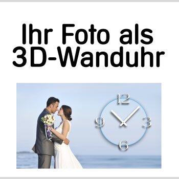 Foto Wanduhr