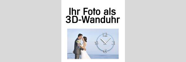 Foto-Wanduhr
