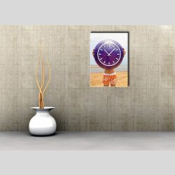 3828 Dixtime Designer Wanduhr, Wanduhren, Moderne Bürouhr