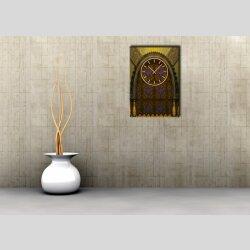 3832 Dixtime Designer Wanduhr, Wanduhren, Moderne Wohnraumuhr  70cm x 100cm