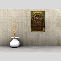 3832 Dixtime Designer Wanduhr, Wanduhren, Moderne Wohnraumuhr
