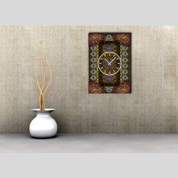 3834 Dixtime Designer Wanduhr, Wanduhren, Moderne Wohnraumuhr  50cm x 70cm