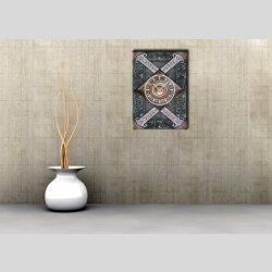 3835 Dixtime Designer Wanduhr, Wanduhren, Moderne Wohnraumuhr  70cm x 100cm