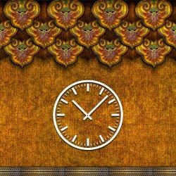3838 Dixtime Designer Wanduhr, Wanduhren, Moderne Wohnraumuhr