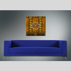 3840 Dixtime Designer Wanduhr, Wanduhren, Moderne Wohnraumuhr  70cm x 70cm