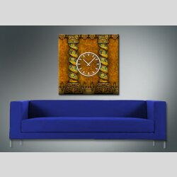 3840 Dixtime Designer Wanduhr, Wanduhren, Moderne Wohnraumuhr  30cm x 30cm
