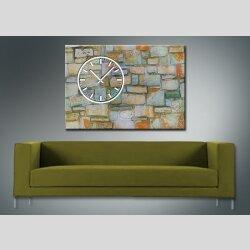 3841 Dixtime Designer Wanduhr, Wanduhren, Moderne Wohnraumuhr