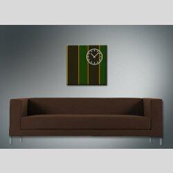 3842 Dixtime Designer Wanduhr, Wanduhren, Moderne Wohnraumuhr  70cm x 70cm