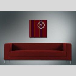 3843 Dixtime Designer Wanduhr, Wanduhren, Moderne Wohnraumuhr  70cm x 70cm