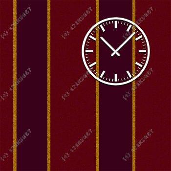 3843 Dixtime Designer Wanduhr, Wanduhren, Moderne Wohnraumuhr