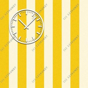 3845 Dixtime Designer Wanduhr, Wanduhren, Moderne Wohnraumuhr  70cm x 70cm