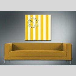 3845 Dixtime Designer Wanduhr, Wanduhren, Moderne Wohnraumuhr  40cm x 40cm