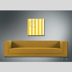 3845 Dixtime Designer Wanduhr, Wanduhren, Moderne Wohnraumuhr