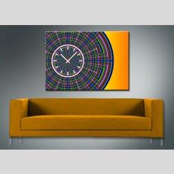 3847 Dixtime Designer Wanduhr, Wanduhren, Moderne Bürouhr  70cm x 100cm