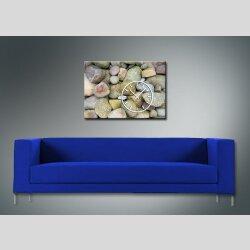 3852 Dixtime Designer Wanduhr, Wanduhren, Moderne Bürouhr  70cm x 100cm