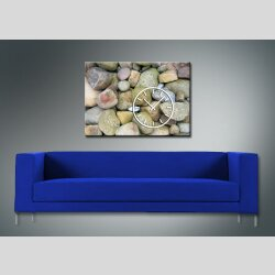3852 Dixtime Designer Wanduhr, Wanduhren, Moderne Bürouhr  50cm x 70cm
