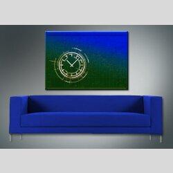 3854 Dixtime Designer Wanduhr, Wanduhren, Moderne Bürouhr  50cm x 70cm