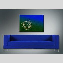 3854 Dixtime Designer Wanduhr, Wanduhren, Moderne Bürouhr  35cm x 50cm