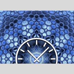 3867 Dixtime Designer Wanduhr, Wanduhren, Moderne Wohnraumuhr  40cm x 40cm