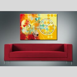 3872 Dixtime Designer Wanduhr, Wanduhren, Bürouhr  70cm x 100cm