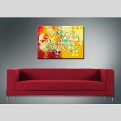 3872 Dixtime Designer Wanduhr, Wanduhren, Bürouhr  50cm x 70cm