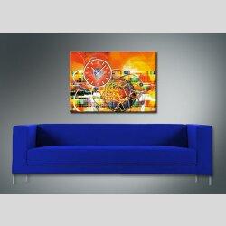 3881 Dixtime Designer Wanduhr, Wanduhren, Moderne Wohnraumuhr