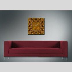 3963 Dixtime Designer Wanduhr, Wanduhren, Moderne Wohnraumuhr  70cm x 70cm