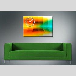 3968 Dixtime Designer Wanduhr, Wanduhren, Moderne Wohnraumuhr