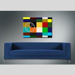 3970 Dixtime Designer Wanduhr, Wanduhren, Moderne Wohnraumuhr