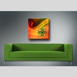 3994 Dixtime Designer Wanduhr, Wanduhren, Bürouhr  90cm x 90cm