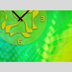 3995 Dixtime Designer Wanduhr, Wanduhren, Bürouhr  30cm x 30cm