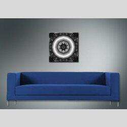 3998 Dixtime Designer Wanduhr, Wanduhren, Bürouhr  40cm x 40cm