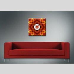 4074 Dixtime Designer Wanduhr, Wanduhren, Moderne Wohnraumuhr  70cm x 70cm