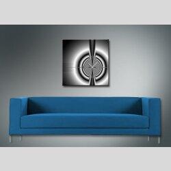 4076 Dixtime Designer Wanduhr, Wanduhren, Moderne Wohnraumuhr  70cm x 70cm