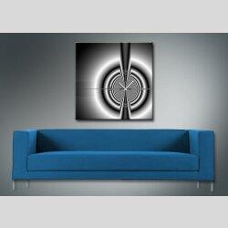 4076 Dixtime Designer Wanduhr, Wanduhren, Moderne Wohnraumuhr