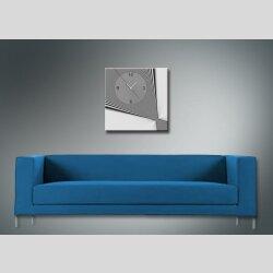 4077 Dixtime Designer Wanduhr, Wanduhren, Moderne Wohnraumuhr  90cm x 90cm