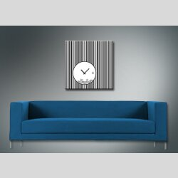 4079 Dixtime Designer Wanduhr, Wanduhren, Moderne Wohnraumuhr  90cm x 90cm