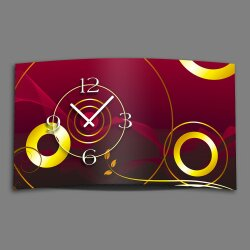 Digital Designer Art abstrakt Designer Wanduhr abstrakt...