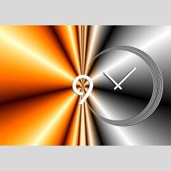 4370 Dixtime Designer Wanduhr, Wanduhren, Moderne...