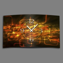 Digital Designer Art abstrakt lights Designer Wanduhr...