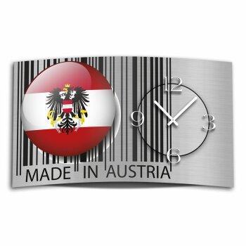 Digital Designer Art Austria Designer Wanduhr abstrakt modernes Wanduhren Design leise kein ticken DIXTIME 3D-0416