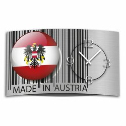 Digital Designer Art Austria Designer Wanduhr abstrakt...