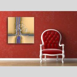 6039 Dixtime Designer Wanduhr, Wanduhren, Moderne Wohnraumuhr