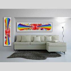 Snowboard Designer Wandbild - DIXTIME - SBB-175