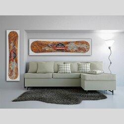 Snowboard Designer Wandbild - DIXTIME - SBB-173