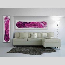 Snowboard Designer Wandbild - DIXTIME - SBB-167
