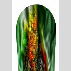 Snowboard Designer Wandbild - DIXTIME - SBB-163