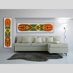 Snowboard Designer Wandbild - DIXTIME - SBB-143