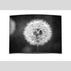 Wanduhr XXL 3D Optik Dixtime schwarz weiß...