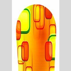 Snowboard Designer Wandbild - DIXTIME - SBB-061